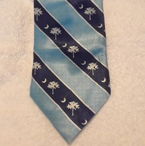 Other - South Carolina Tie State Mark Blue Whote5